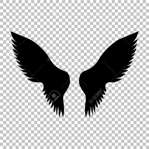 wings background wings clipart transparent background pencil and in color