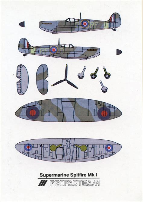 How To Make A Paper Spitfire - submarine spitfire mk i cut out postcard submarine