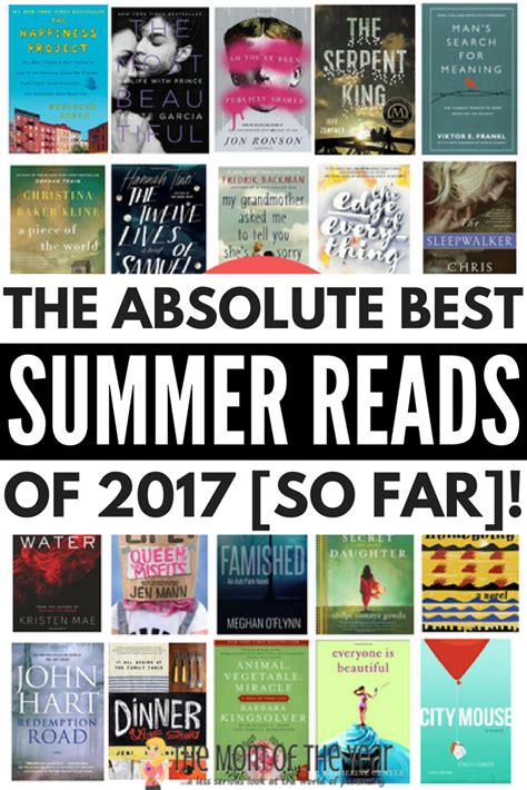 we became summer books best summer reads of 2017 20 books to add to your reading