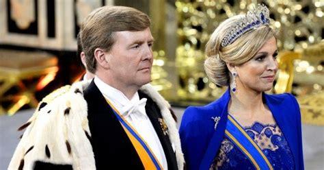 Ratu Cape 1 duli mahkota hm ratu maxima dihari pemasyuran raja belanda