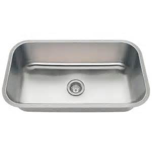 Home Depot Stainless Steel Kitchen Sinks Polaris Sinks Undermount Stainless Steel 32 In Single