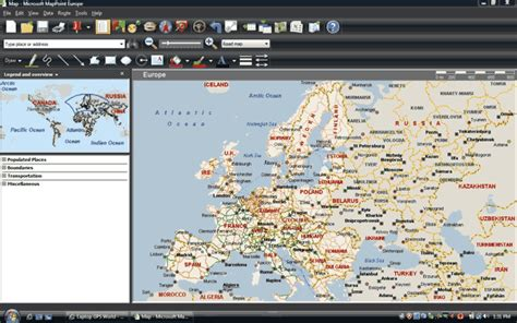 map point review microsoft mappoint 2009 europe laptop gps world