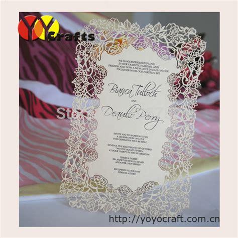 aliexpress invitation code aliexpress com buy creative design laser cut white