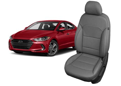 Hyundai Elantra Seat Covers by Hyundai Elantra Leather Seats Interiors Seat Covers