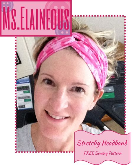 t shirt headband pattern ms elaineous teaches sewing stretchy t shirt headband