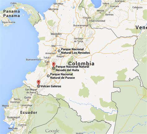 cadena volcanica wikipedia 5 volcanes que debes visitar en colombia