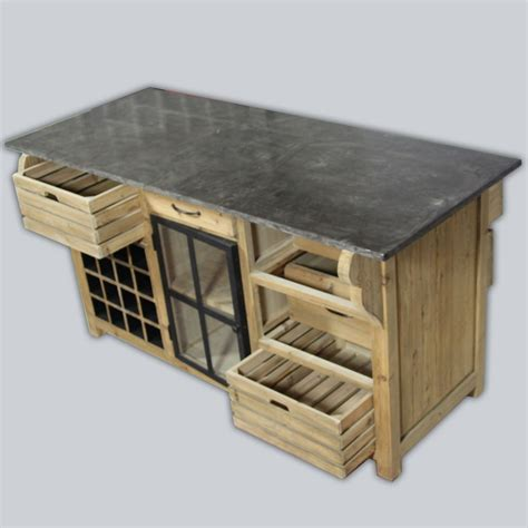 meuble de cuisine ind駱endant meubles cuisine bois brut bois lment mural avec portes