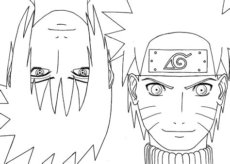Anime Coloring Pages To Print Printable Coloring Naruto With Sasuke Anime Coloring Pages For Kids by Anime Coloring Pages To Print Printable