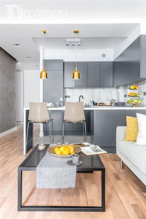 decoracion de sala comedor  cocina en una sola habitacion