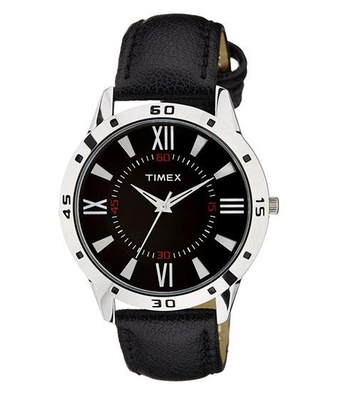 timepiece three black analog buy timepiece
