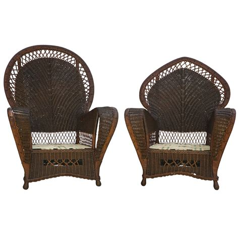 Antique Rattan Furniture by Antique Wicker Chairs And Sofa At 1stdibs