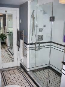 Vintage Black And White Bathroom Ideas by Black And White Tile Bathrooms Done 6 Different Ways