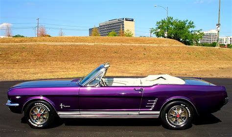 purple convertible 1966 ford mustang convertible a photo on flickriver