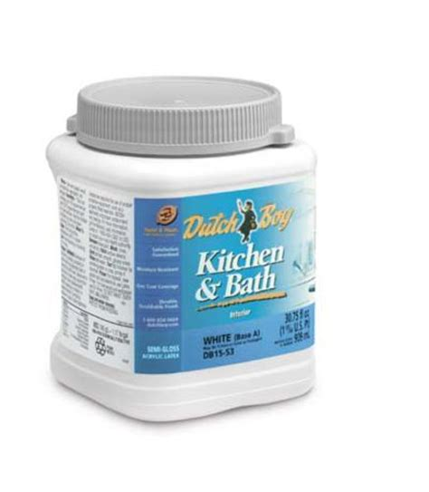 boy 174 kitchen and bath base d semi gloss interior acrylic paint 1 qt