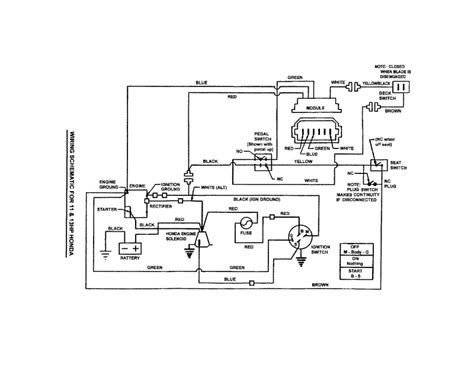 snapper lawn mower electric start wiring diagram snapper