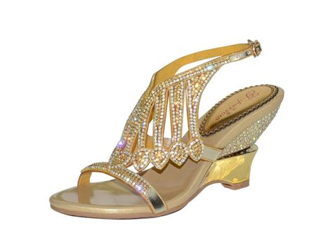 gold bling sandals bling pearl rhinestone cover heel sandals platform