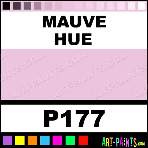 mauve color chart mauve ad markers paintmarker paints and marking pens