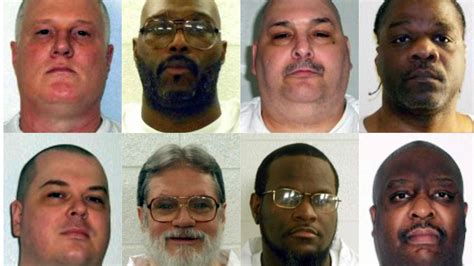 arkansas execution federal judge halts arkansas plan to execute inmates by month s end la times