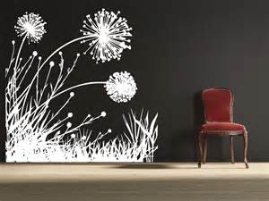 Dandelion Wall Art Stickers Dandelion Field 2 Uber Decals Wall Decal Vinyl Decor Art
