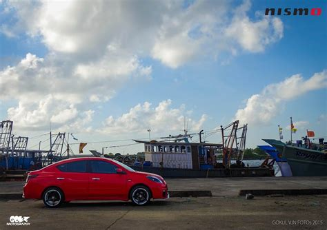 nissan sunny 2016 modified modified red nissan sunny from kerala india modifiedx