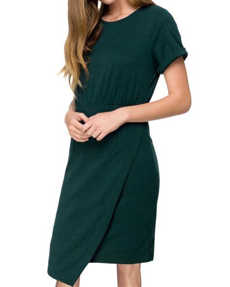 knit moda moda knit dress green