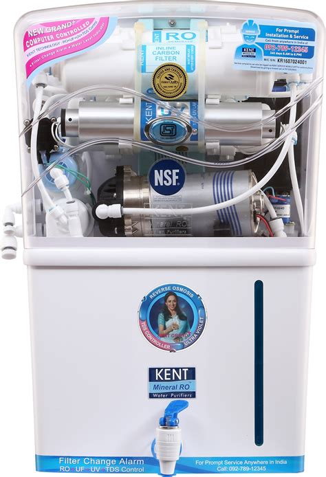 of uv l in water purifier kent grand plus tds 8 l ro uv uf water purifier kent