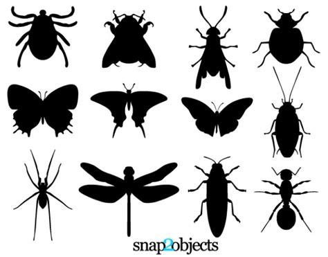 imagenes libres svg libres de vectores de siluetas de insectos descargar