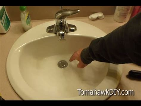 Repair Sink Drain Stopper by How To Fix A Leaky Sink Drain Stopper Easy To Do