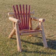 wildwood rustics red cedar half log bench outdoor log chairs and outdoor log benches