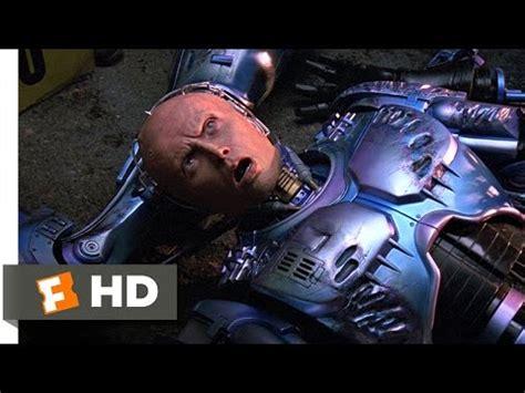 robocop electrocutes himself youtube robocop 2 4 11 movie clip one of us must die 1990 hd