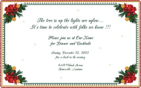 wording for employee holiday luncheon 6 best images of employee invitation company invitation corporate