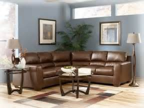 942 Brown Leather Sectional Signature Ashley Furniture » Home Design 2017