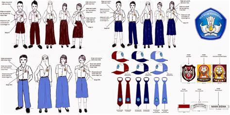 5 cara memakai dasi segitiga kantoran dan smp mudah dan benar model bentuk ukuran pakaian seragam sekolah topi