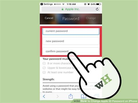 3 iphones 1 apple id how to change apple id password on iphone with pictures