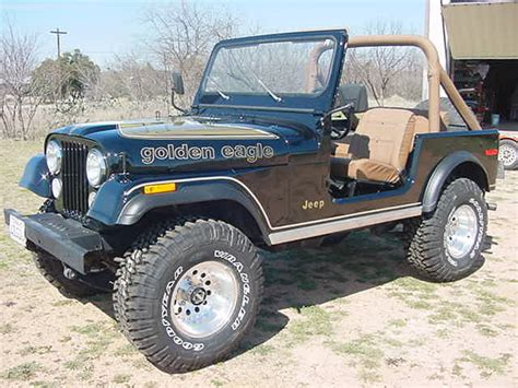 jeep cj golden eagle jeep cj7 renegade image 30