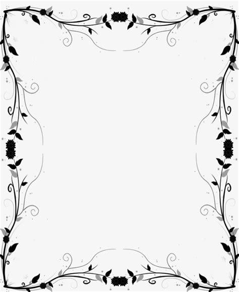 Imagenes Blanco Y Negro Editar | decoracion de marcos blanco y negro frame patr 243 n png