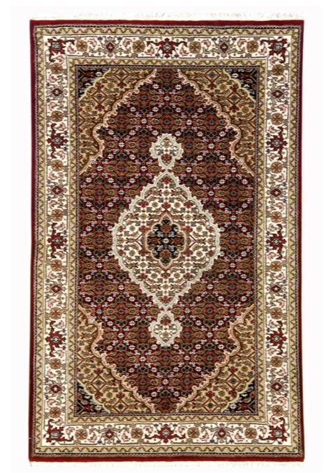 Beautiful Area Rugs 3 X 5 Beautiful Area Rug Burgundy Woven By New Trendy Wool Silk Tabriz Ebay