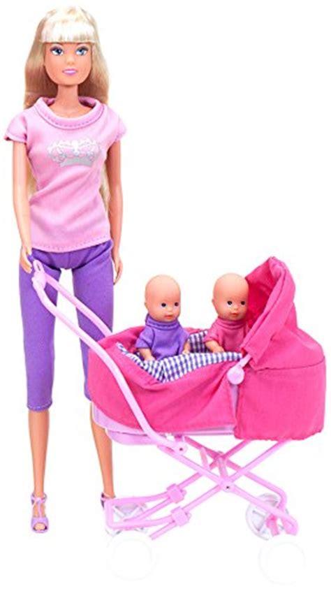 culla steffi smoby 5738060 bambola e accessori steffi con 2 beb 232