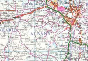 Albany New York Map by Albany County Map New York New York Hotels Motels