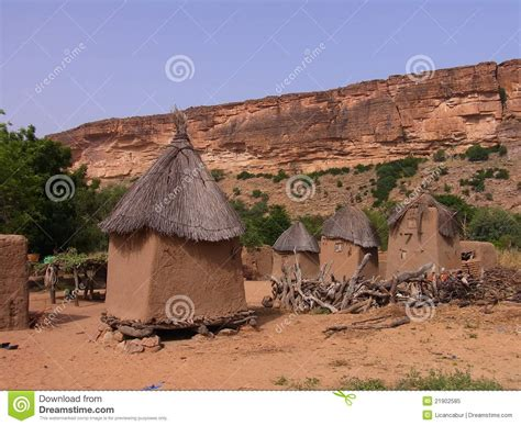 dogon millet store editorial image image of village