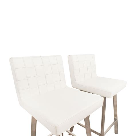 Inmod Chair by 90 Inmod Inmod Constantine White Bar Stools Chairs