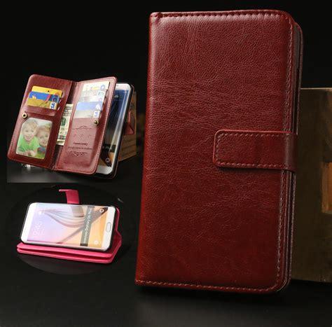 Samsung S6 Edge Plus Wallet Leather Casing Bumper Dompet Kulit s6 edge plus luxury business magnetic clasp leather wallet