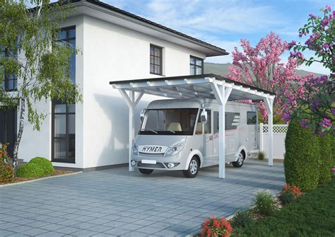 wohnmobil carport kaufen pfosten f 252 r 3 30 m einfahrtsh 246 he