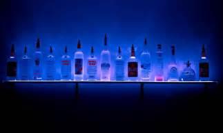 led wall mounted liquor shelves bar strictlymancave