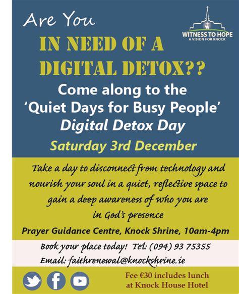 Digital Detox Retreat Ireland digital detox day retreat catholicireland