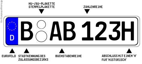 Oldtimer Motorrad H Kennzeichen by H Kennzeichen Nummernschilder Autokennzeichen 2018
