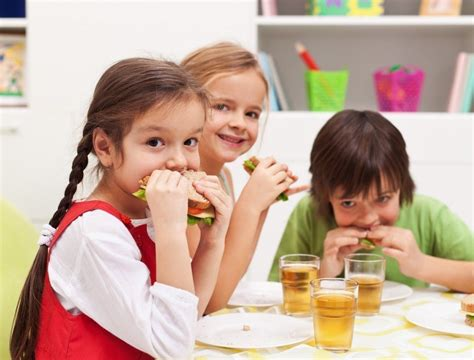 imagenes niños saludables 191 desayuno o merienda la mejor comida para estudiantes