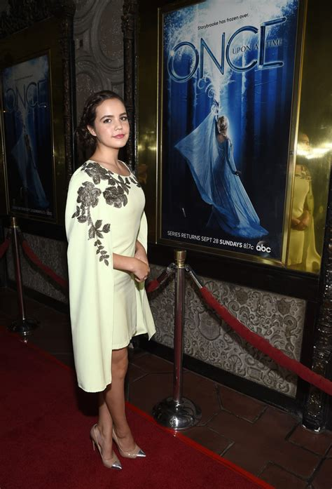 bailee madison on once upon a time bailee madison photos photos screening of abc s quot once
