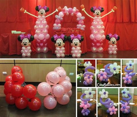 Minnie Mouse Balloon Decoration by Minnie Mouse Decoration Package At Ching Palace Cebu