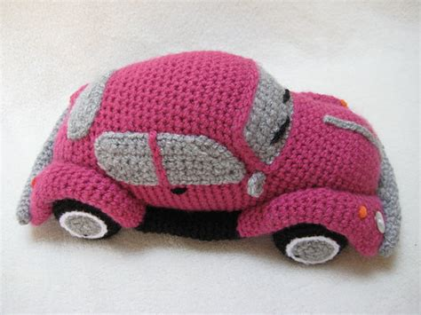 crochet pattern vw cer amigurumi vw beetle volkswagen inspired bug car crochet